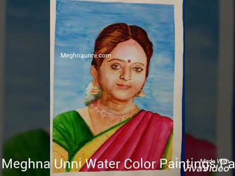 Water Colour Paintings Video Part 3