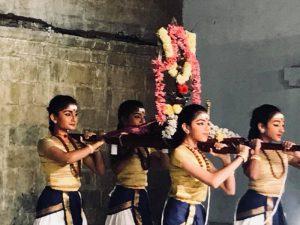 Sridevi Nrithyalaya's Nandanar Charithram today at Mayura Natyanjali 2018
