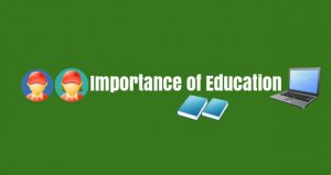 Importance of Education Essay Writing