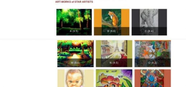 Star Artist Award in Picasso Art Contest 2018 Season 1
