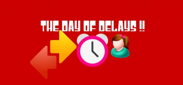 The Day of Delays | An Imaginary Day Write up !!