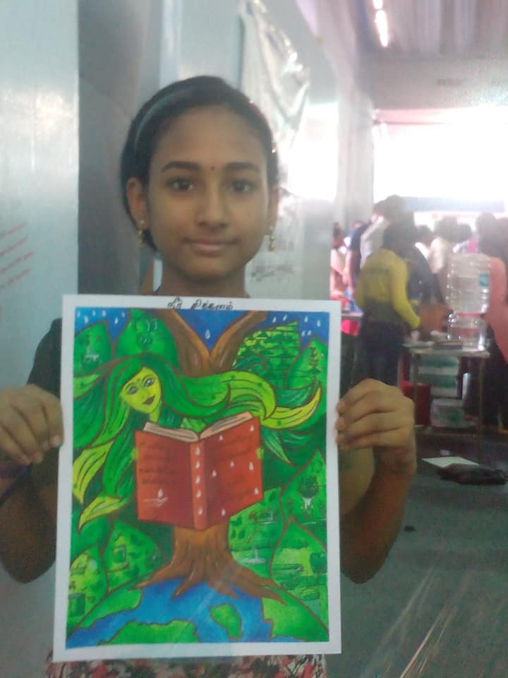 Chennai Book Festival 2018 Painting Contest
