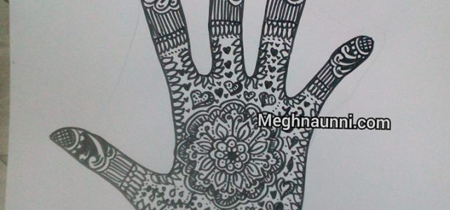 Mehendi Design with Pen