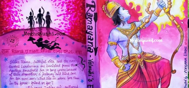 Ramayana Book Cover Design