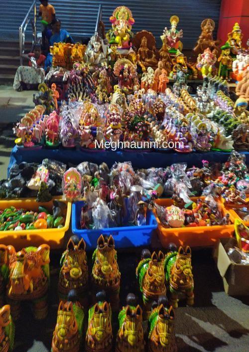 A Wondrous Display of Golu Dolls at Mylapore