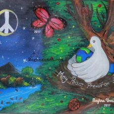 May Peace Prevail on Earth Painting from 2017