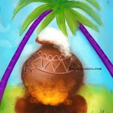 Happy Pongal 2020 Greetings | Digital Painting