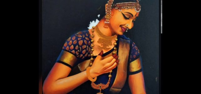 Harinie Akka Painting Step by Step