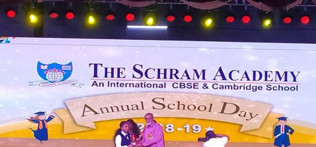 Received General Proficiency Medal in School Annual day 2018-19
