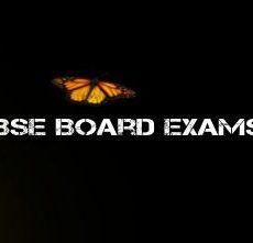 My 10th CBSE Board Exam begins on February 20, 2020