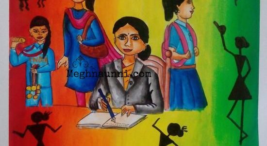 Women Empowerment Painting