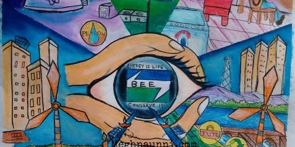 Energy Conservation Painting Competition State Level Picture 2015