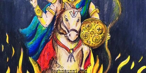 Kalki Avataram Painting | My Imagination
