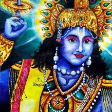 Holiday Work 5 : Sudarshan Chakradhaari Sri Krishna