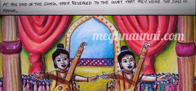 THE STORY OF LAVA AND KUSHA : The Twin Sons of Srirama & Sita