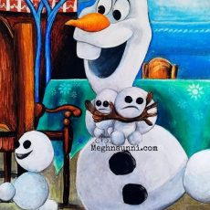 Olaf and his Snowgies from Frozen