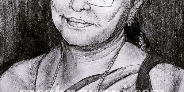 Happy Birthday Ammamma | Grandma Portrait