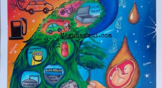 PCRA Painting Competition 2017-18  My School Level Entry