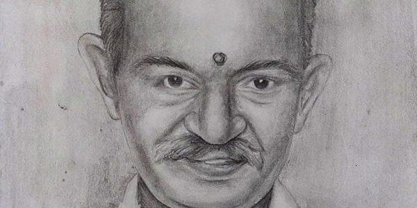 Remembering Gopi Chittappan – Pencil Sketch