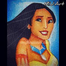 Disney Princess 7: Pocahontas Painting