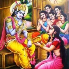 Akshayapatra & Krishna's Grain of Rice: Another time when Krishna saves Draupadi