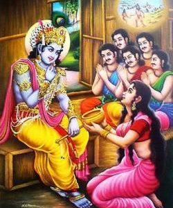 Akshayapatra & Krishna's Grain of Rice: Another time when Krishna saves Draupadi