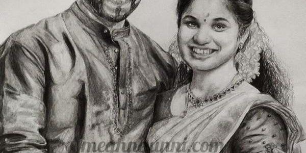 Happy 2nd Monthversary Ankitha Raju chechi & Sajith chetan