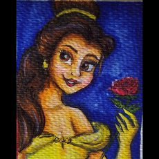 Painting Belle in the Easiest Way! | Painting Video
