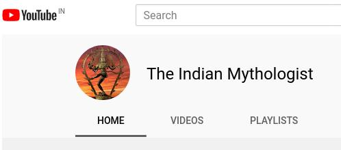 My New Youtube Channel | The Indian Mythologist