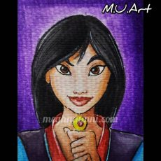 Disney Princess 8 – Fa Mulan from 'Mulan' (1998)!