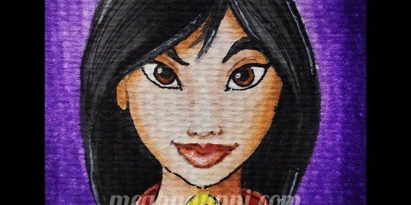 Disney Princess 8 – Fa Mulan from 'Mulan' (1998)!