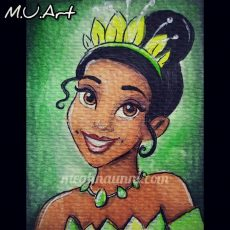 Disney Princess 9 : Tiana Painting