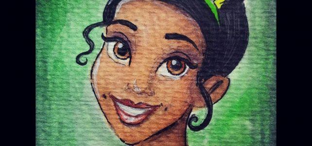 Disney Princess 9 : Tiana Painting