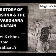 The Story of Krishna and the Govardhana Mountain | Janmashtami Special Video Story