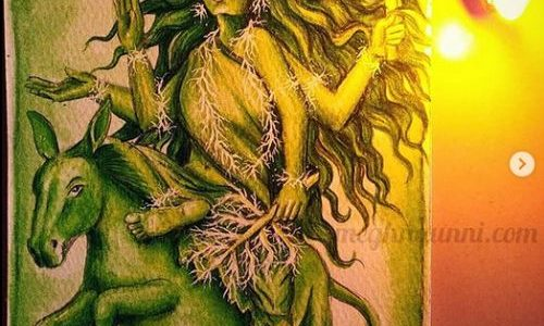Navaratri Day 7| Maa Kālarātri Devi Painting