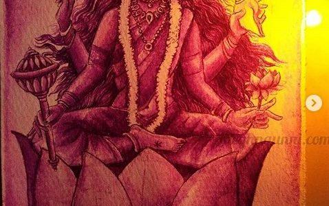 Navaratri Day 9| Maa Siddhidātri Devi Painting