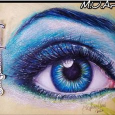 Happy World Sight Day! Realistic Eye Painting