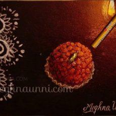 My DIWALI 2020 Painting   Motichur Laddoo   Don't Burst Crackers this Diwali!