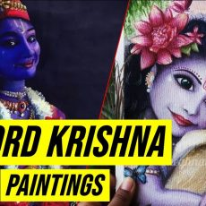 My Lord Krishna Paintings Collection Video | Art by Meghna