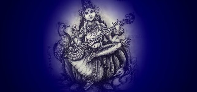 Saraswati Devi Pencil Shading Video | Art by Meghna