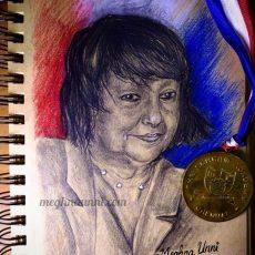 Dr. Elizabeth Schram Portrait | A Tribute to my School TSA's Founder