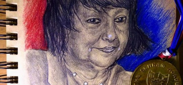 Dr. Elizabeth Schram Portrait | A Tribute to my School TSA's Founder