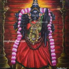 Sri Lalithambika Devi Painting for New Year 2021