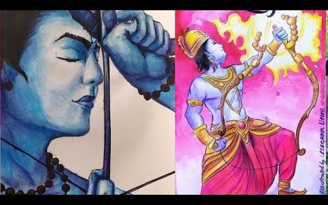 Lord Rama Paintings Video | Art by Meghna