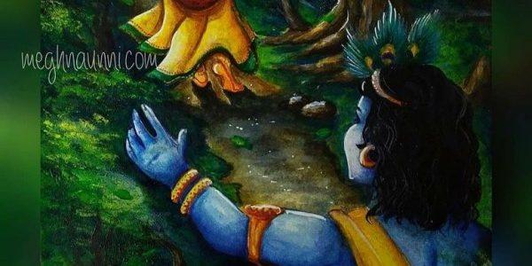 Radha-Krishna Painting Acrylic Painting | Art by Meghna