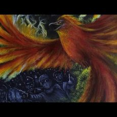Rising from the Corona Covid 19 Pandemic Painting Video
