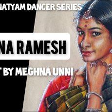 Sanjena Ramesh Akka Painting Process Video