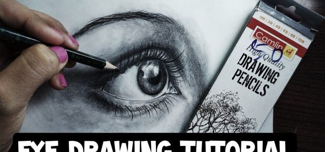 Draw an Eye in 30 mins | Simple Eye Tutorial Pencil Shading