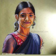 Mrinalini Sivakumar Painting | Koolkidz Series : 6