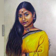 Rajadarshini Saravanan Akka Painting | Koolkidz Series : 5